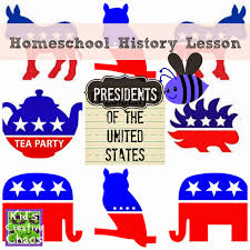 presidents of the united states homeschool history lesson kids
