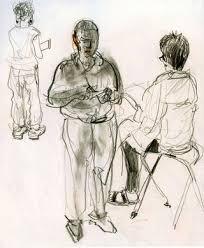 laurelines museum sketches