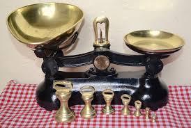 Vintage Kitchen Scales Vintage English Black Boots Cash Chemists Kitchen Scales 7 Brass