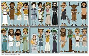 greek mythology characters storyboard by anna warfield