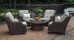 wicker patio set great companions to meet outdoors marku home