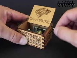 Engraved Music Box Engraved Wooden Music Box Game Of Thrones Theme Youtube