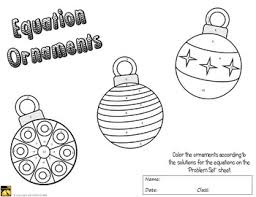 equation ornaments solve and color by math giraffe tpt