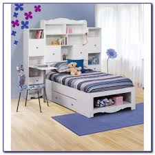 Twin Bed With Storage And Bookcase Headboard by White Twin Storage Bed With Bookcase Headboard Bookcase Home