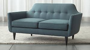 What Is At Cushion Loveseat Gia Loveseat Crate And Barrel