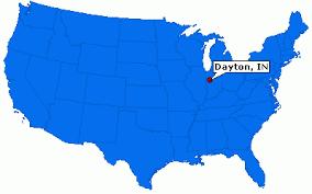 dayton map dayton indiana town information epodunk