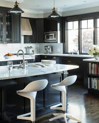 Black And White Kitchen Transitional Kitchen by Rooms Viewer Hgtv