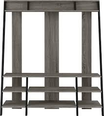 Home Center Decor by Ladder Tv Stand Studio Living Dark Weathered 60 Inch Tv Console