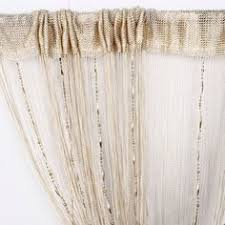 Amazon Beaded Curtains Elleweideco Modern Tree Branch With White Leafs Sheer Window
