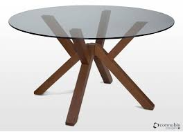 8 Seater Round Glass Dining Table Round Glass Dining Table Dining Tables