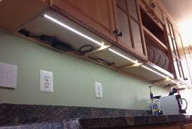 How To Install Lights Under Kitchen Cabinets Installing Under Cabinet Lighting Image Titled Install Under