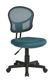 amazon com office star mesh back armless task chair with padded