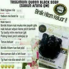 Sabun Qm qm sabun black produk badan dan kecantikan produk badan di carousell