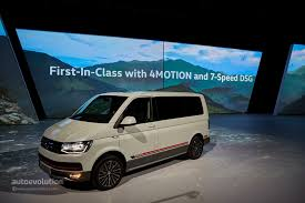 volkswagen multivan 2015 volkswagen multivan panamericana is a lazy motorcyclist u0027s dream