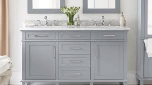 Home Depot Bathroom Vanity Cabinet 4 Foot Bathroom Vanity Shop Vanities Cabinets At The Home Depot