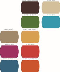 falling for sherwin williams fall color palettes u2013 best in