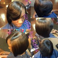 prett hair weave in chicago quick weave bob done by kells a chicago hairstylist want to see