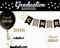 congrats grad banner etsy