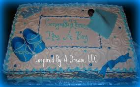 baby shower cakes baby shower sheet cake ideas for a boy