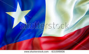 chile flag 3d waving flag design stock illustration 631599806