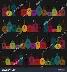 cute tile background halloween vector art halloween stylish illustration colorful stock vector