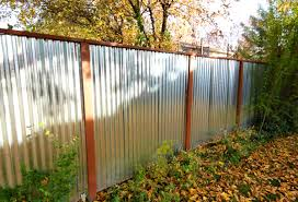 fascinating 90 corrugated metal privacy fence inspiration design