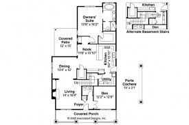 small bungalow floor plans wonderful bungalow house plans cavanaugh 30 490 associated designs