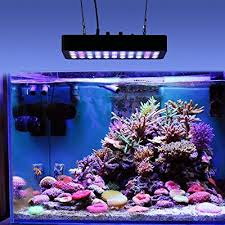 Reef Aquarium Lighting Galaxyhydro Led 55x3w Dimmable 165w Full Spectrum Led Review