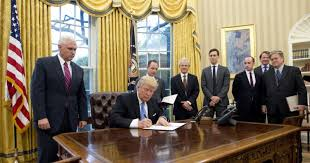 trump in oval office president trump reinstates ban on international abortion funding