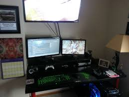 Gaming Desk Ideas by Intention Standing Desk Workstation Tags Stand Up Sit Down Desk