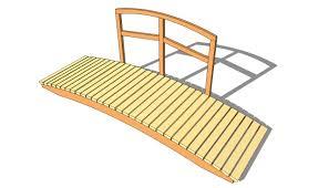wooden bridge plans myoutdoorplans free woodworking plans and