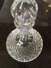 Vintage Waterford Cut Glass Crystal Vase Starburst Pattern Cut Glass Ebay