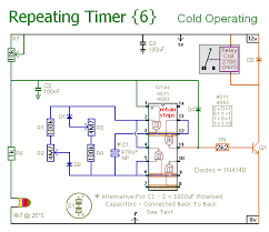 how to build repeating timer no6 circuit diagram