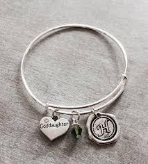 goddaughter charm bracelet baptism gift silver charm bracelet goddaughter gift by sajolie