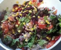 cuisiner les haricots rouges secs salade aux haricots rouges maïs et thon recette de salade aux
