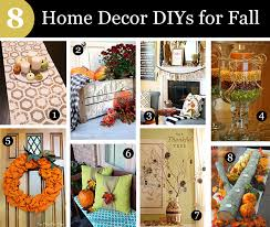 how to do home decoration do it yourself fall home decor ideas