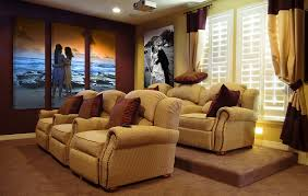theater room seating leather home theater group seating row of 3
