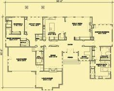 Craftsman Style Homes Floor Plans Dream House Layout Although I Would Want A Basement So It Can Be