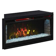 comfort smart 28 in contemporary infrared electric fireplace