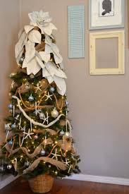 corner christmas tree last minute tree decorating ideas for an enchanting christmas
