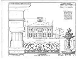 antebellum floor plans d evereux plantation southern style houses southern plantation