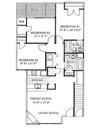 incredible floor plans for multi family design with three bedroom