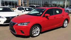 lexus ct 200h 1 8 f sport 5dr cvt auto new red on black 2014 lexus ct 200h hybrid touring package review