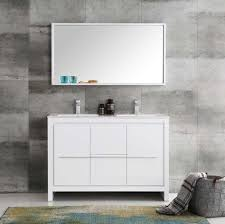 48 Double Sink Bathroom Vanity by Fresca Allier 48