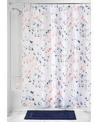 spectacular deal on interdesign twiggy floral fabric shower
