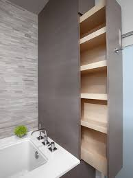 Bathroom Storage Wall Five Great Bathroom Storage Solutions