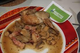 cuisiner des cailles facile cailles rôties en cocotte t