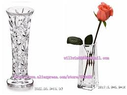 Clear Vases Bulk Factory Fancy Bulk Wholesale Big Mini Large Small Tall Round Glass