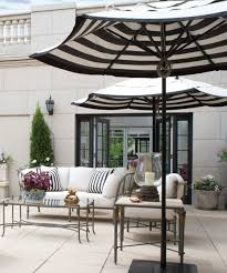 Frontgate Patio Umbrellas Furniture Frontgate Outdoor With Black And White In Patio Decor 21