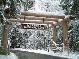nisqually entrance of mt rainier national park winter visit rainier